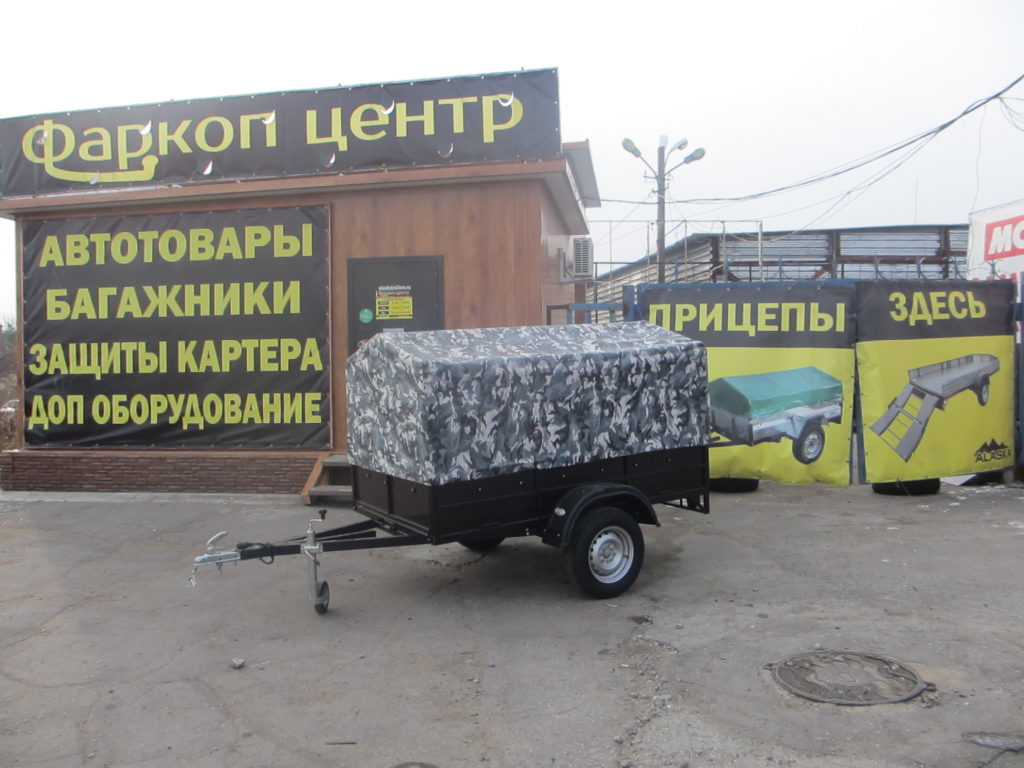"""Прицеп ALASKA """"ДАЧНИК С\С"""""""
