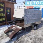 "Прицеп ALASKA ""ФЕРМЕР"" + ТЕНТ"